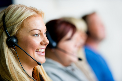 operatrice call-center